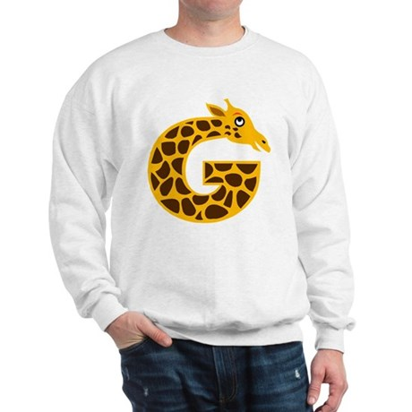 G is for Giraffe Sweatshirt