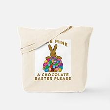 Chocolate Easter Tote Bag