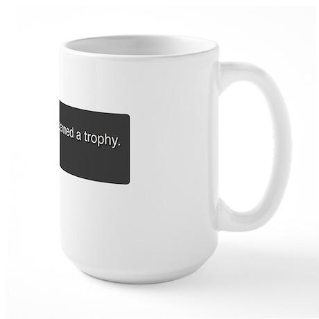 PS3 Trophy-Marriage Large Mug