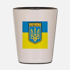 Ukraine (iPad) Shot Glass