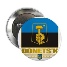 "Donetsk COA 2 2.25"" Button"