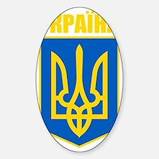 Ukraine COA 2 Sticker (Oval)
