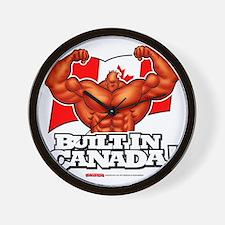 BUILT_IN_CANADA Wall Clock