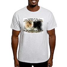 Les femmes et les chats T-Shirt
