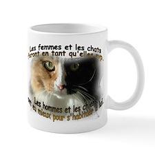 Les femmes et les chats Mug (2-sided)