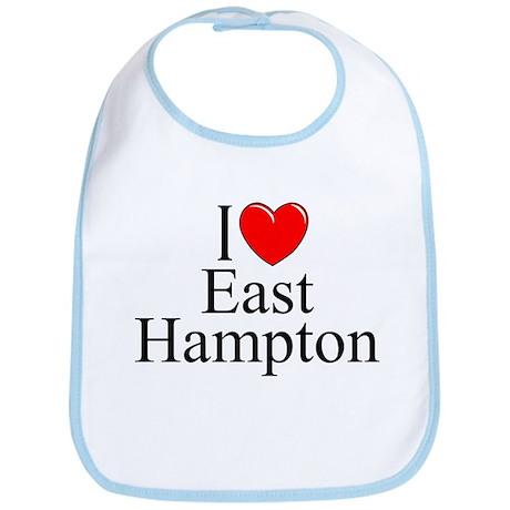 """I Love East Hampton"" Bib"