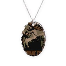 CombatTech_7x10 Necklace Oval Charm