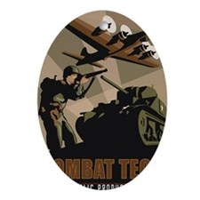 CombatTech_7x10 Oval Ornament