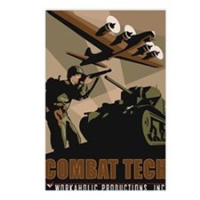 CombatTech_7x10 Postcards (Package of 8)