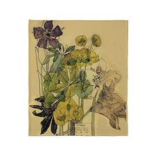 Charles Rennie Mackintosh Throw Blanket