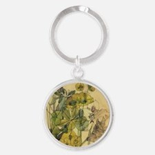 Charles Rennie Mackintosh Round Keychain