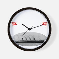 TG2 GhostTransWhite12x12USETHIS Wall Clock