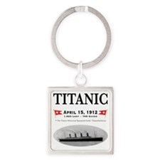 TG2 GhostTransBlack12x12USE THIS Square Keychain