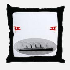 TG2 GhostTransWhite12x12USETHIS Throw Pillow