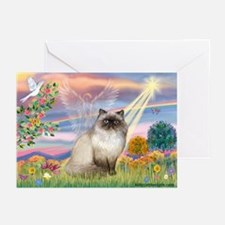 Cloud Angel & Himalayan Greeting Cards (Pk of 10)