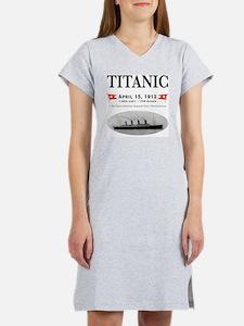 TG2 Ghost Boat 12x12-3 Women's Nightshirt