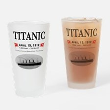 TG2 Ghost Boat 12x12-3 Drinking Glass
