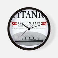 TG2 Ghost Boat 12x12-3 Wall Clock