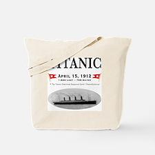 TG2 Ghost Boat 12x12-3 Tote Bag