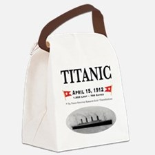 TG2 Ghost Boat 12x12-3 Canvas Lunch Bag