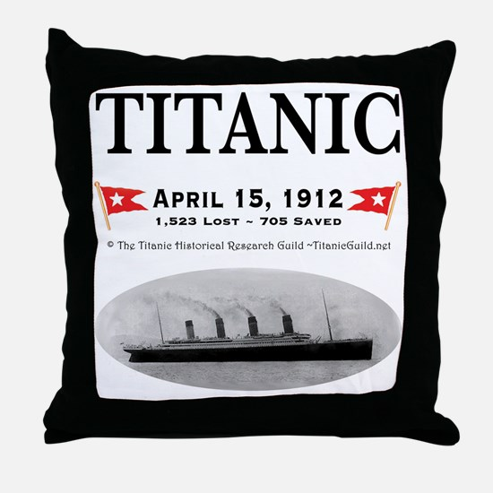 TG2 Ghost Boat 12x12-3 Throw Pillow