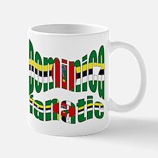 Dominican Island flag fanatic Mug