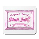 Pink Ink Art Brand Mousepad