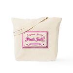 Pink Ink Art Brand Tote Bag