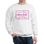 Pink Ink Art Brand Sweatshirt