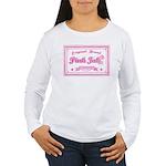Pink Ink Art Brand Women's Long Sleeve T-Shirt