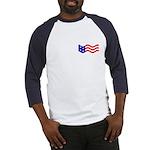 Free Because of Patriots (ver 2) Baseball Jersey