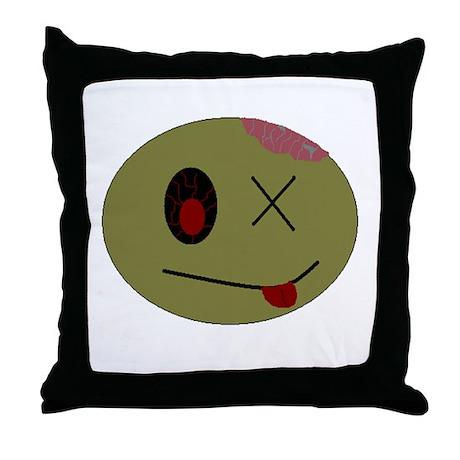 zombie one Throw Pillow