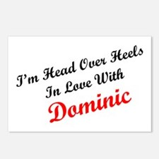 In Love with Dominic Postcards (Package of 8)