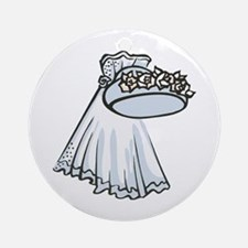 Veil Ornament (Round)