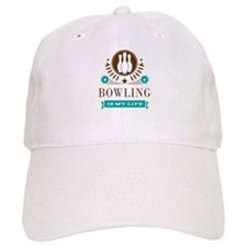 Bowling Is My Life Baseball Cap