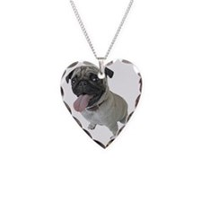 Pug Face Close-Up Necklace