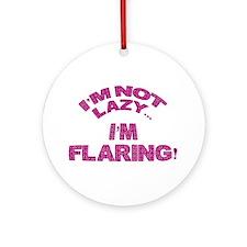 Flaring  Ornament (Round)