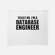 Trust Me, I'm A Database Engineer Throw Blanke