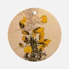 Gorse by Mackintosh Round Ornament
