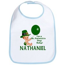 Personalized for Nathaniel Bib