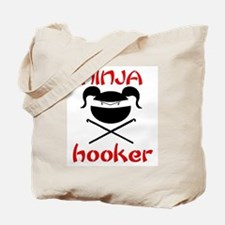 ninja hooker (crochet) Tote Bag