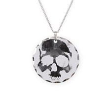 Watercolorskull Necklace