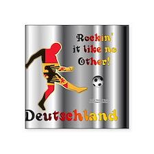 """RockinIt_Deutschland_mpad Square Sticker 3"""" x 3"""""""