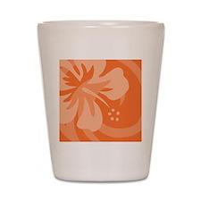 Orange-Pillow Shot Glass