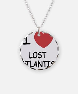 LOST_ATLANTIS Necklace Circle Charm