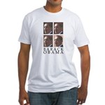 Barack Obama Fitted USA T-Shirt