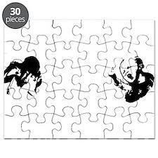 WhioKidsWhiteType 12x12 Puzzle