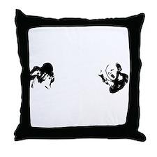 WhioKidsWhiteType 12x12 Throw Pillow