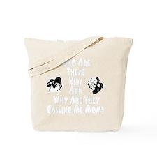 WhioKidsWhiteType 12x12 Tote Bag