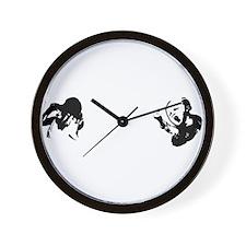 WhioKidsWhiteType 12x12 Wall Clock